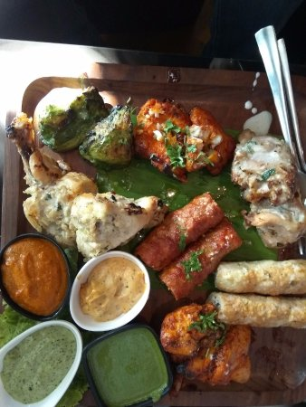 Non Veg Platter Picture Of Ardor Restaurant And Lounge