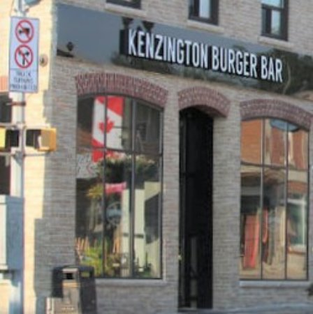 Bradford West Gwillimbury, แคนาดา: Kenzington Burger Bar, Bradford ON