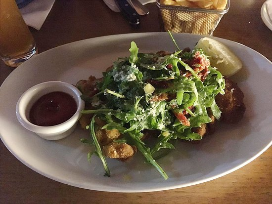 Bavarian Bier Cafe: with a salad on top