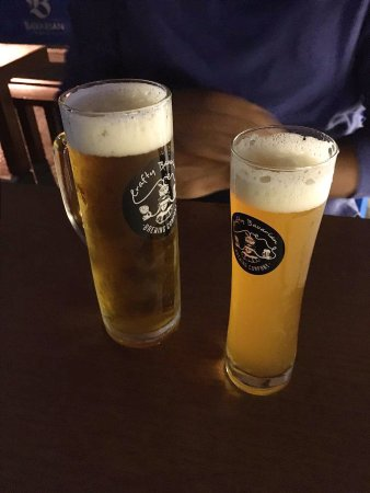 Bavarian Bier Cafe: delicious beer