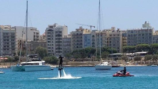 Birkirkara, Malte : Der erste Flug nach den ersten 3-5 Minuten
