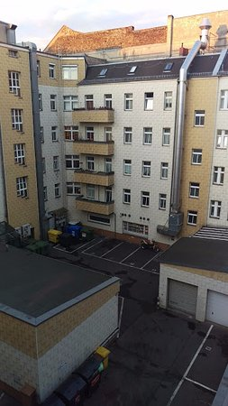 Hampton by Hilton Berlin City West: view from our window