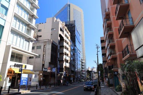 Hotel Grand Fresa Akasaka : Улица, на которой расположен отель