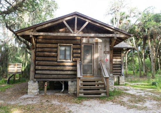 Cabin picture of myakka river state park sarasota for Florida state parks cabins