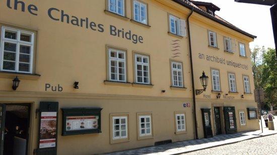 Archibald Charles Bridge Hotel Prague Tripadvisor