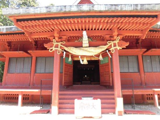 岩木山神社, 一番奥でお参りしました。