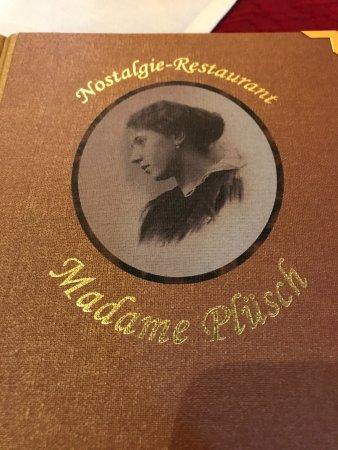 Madame Pluesch: Menu