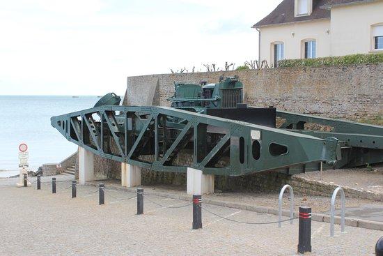Arromanches-les-Bains, Francia: une petite partie du pont artificiel