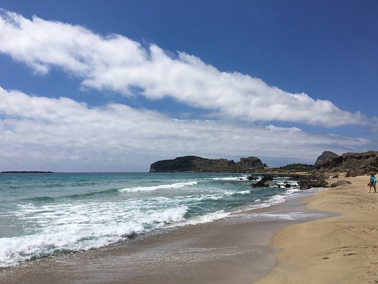 Falassarna, اليونان: Great beach