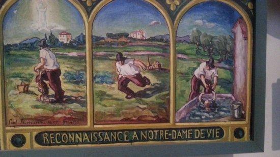 Eglise Notre Dame de Vie : ex voto