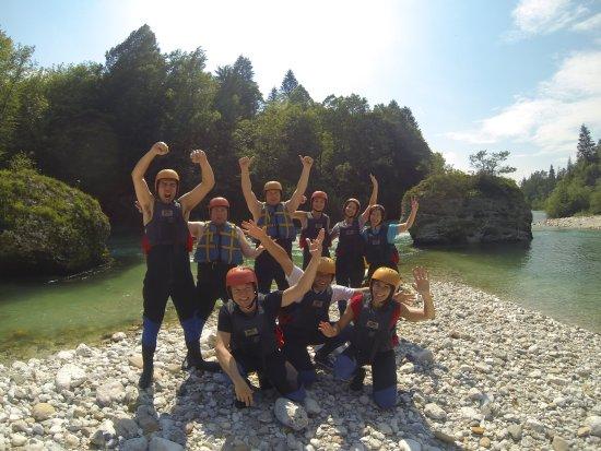Radovljica, Slovenia: Rafting Bled