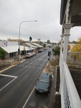 Penola, Australien: View from the front veranda
