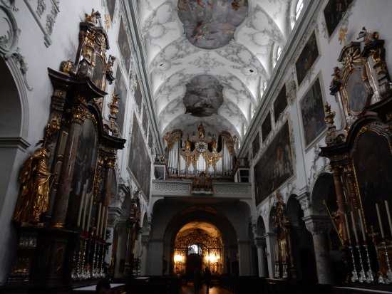 St. Peter's Abbey (Stift St. Peter): Looking towards the organ
