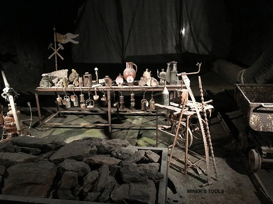 Hinterbruhl, Autriche : Miner's tools from the past