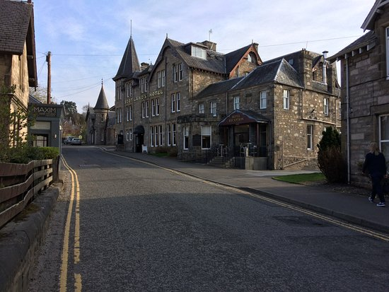 Scotland's Hotel & Spa: view from Bonnethill Road
