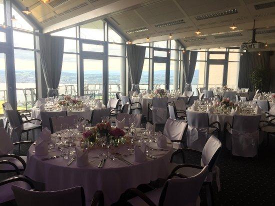 Feusisberg, Suiza: So lässt sich eine Hochzeit feiern!