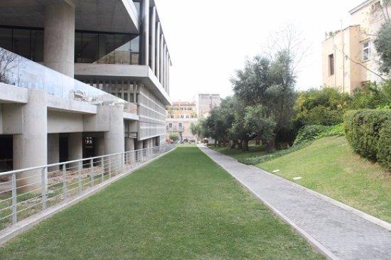 Μουσείο Ακρόπολης: Entrance to museum