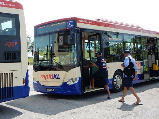 Sepang, Malasia: サーキット内のシャトルバス