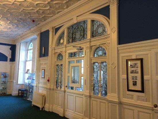 Gartmore, UK: Entrance hall/reception