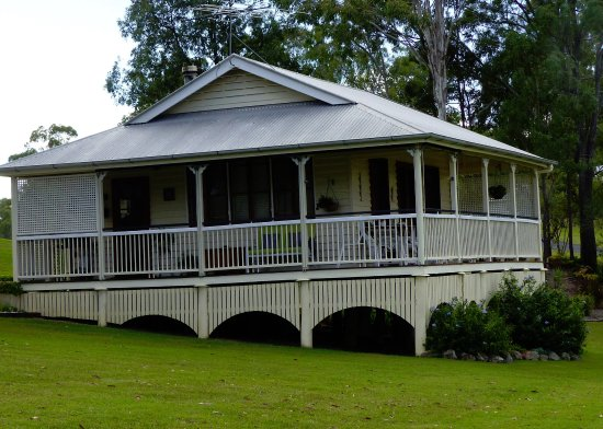 Boonah, Australia: The cottage seen from the yard