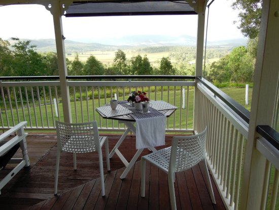 Boonah, Australia: We spent a lot of time at that table