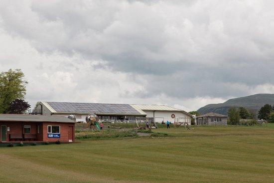 Kinross, UK: The rear of Loch Leven's Larder.