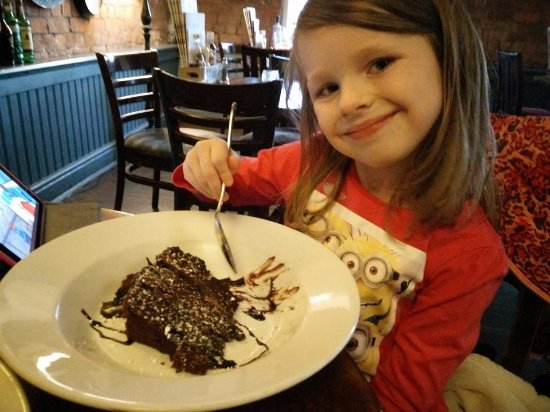 Leigh, UK: A happy little girl