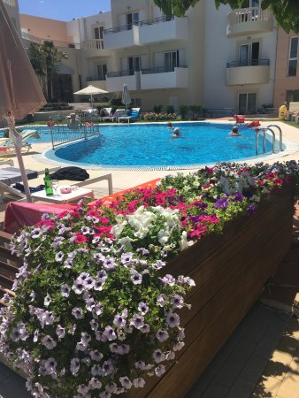 Melina Beach Hotel: By the pool