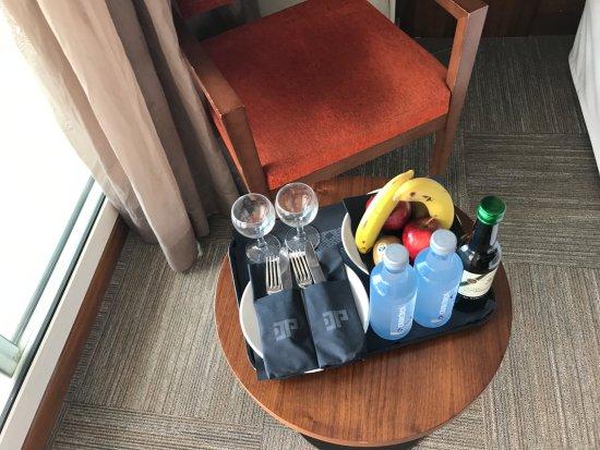 Detalle de bienvenida fotograf a de hotel don pancho - Detalles de bienvenida ...