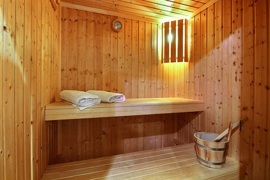 Les Champeaux, France: Sauna privé cottage Demoiselle - Private sauna cottage Demoiselle
