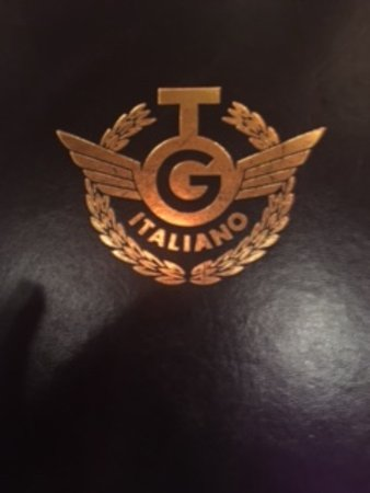 TG Italiano: Menu cover