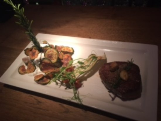 TG Italiano: Steak husband ordered - excellent and cooked perfectly