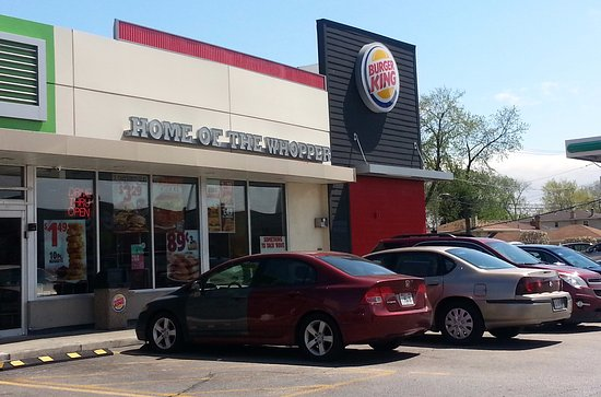 Westchester, IL: front of & entrance to Burger King