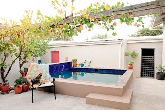 Darling, South Africa: Our pool patio