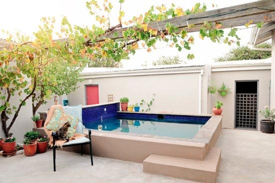 Darling, Sudáfrica: Our pool patio