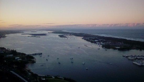 Southport, Australia: Nerang river at sunset