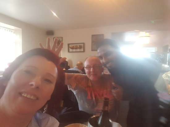 Ravenshead, UK: Wspaniala kolacja.z wyborem dan zdalismy sie na sympatycznego doradce .wszystko bylo pyszne.Pozd