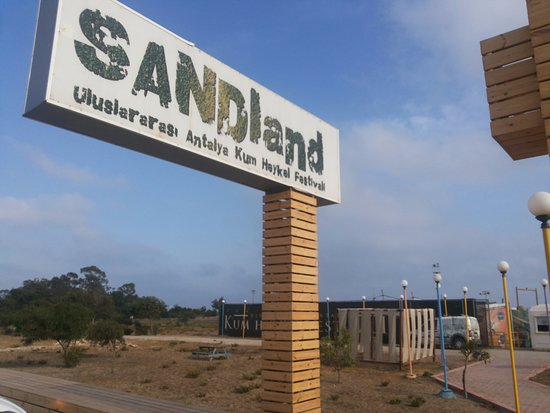 sandland giriş - Picture of Sandland, Antalya - TripAdvisor