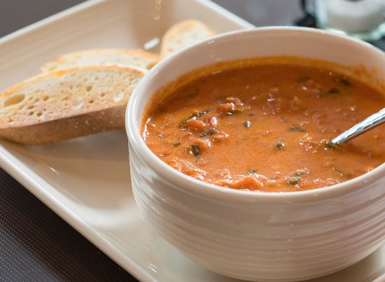 Osceola, WI: Our famous house-made Tomato Basil Soup