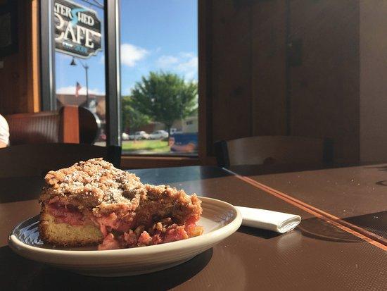 Osceola, Ουισκόνσιν: Rhubarb Berry Buckle