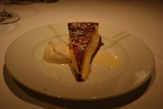 Echaurren Tradición : pastel de requesón