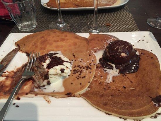 Marmande, France: Pancake plutôt que crêpe
