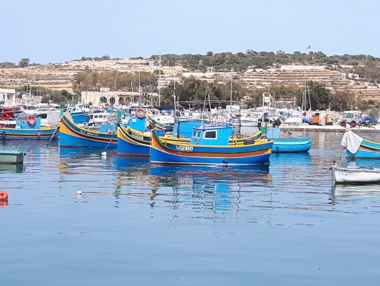 Marsaxlokk, Malta: Łodki
