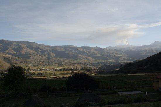 La Casa De Mama Yacchi : Uitzicht vanaf het terras