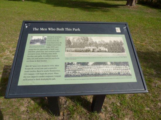 Aiken, SC: history sign