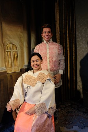 2f4f2634ac Barong and Maria Clara costumes - Picture of Villa Tortuga Colonial ...