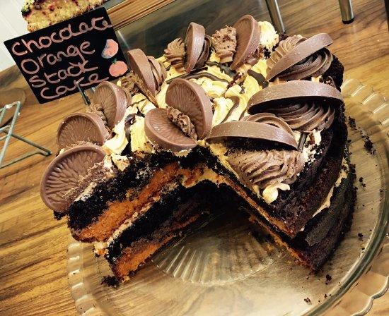 Bampton, UK: Chocolate Orange Cake
