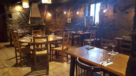 Monticello, Γαλλία: Salle de restaurant