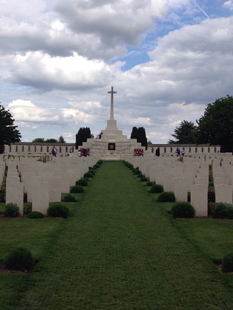 Zonnebeke, Belgium: Tyne Cot Cemetery