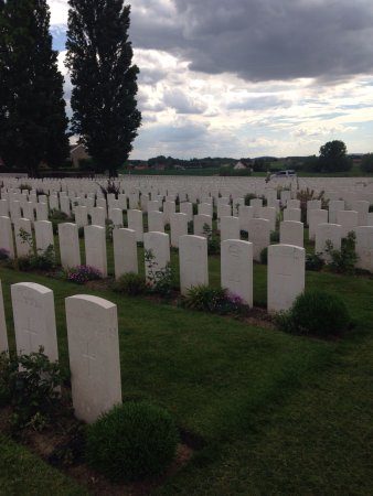 Zonnebeke, بلجيكا: Tyne Cot Cemetery